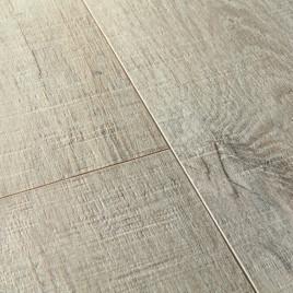 ПВХ плитка Quick-Step Pulse Click  Дуб хлопковый темно-серый пилёный PULC40106
